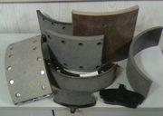 Накладки тормозные,  накладки фрикционные (сцепление) для грузов. авто.