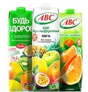 Соки и нектары из Беларуси