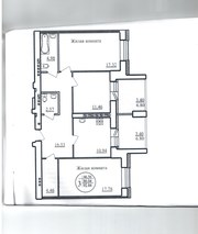 Продаю 3 комнатную квартиру 93 кв.м. на ул. Павлюхина.