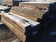 Шпалы деревянные бу.К001