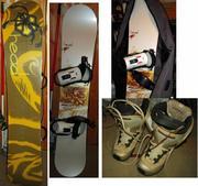 Продам сноуборд женский HEAD GLAM (150 см) +комплект